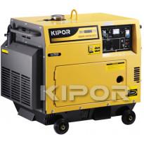 Aggregaatti Kipor, KDE6500T 230V, diesel