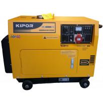 Aggregaatti Kipor, KDE6500T3, 400V, diesel