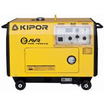 Aggregaatti Kipor, KED7500TD, 230V, diesel