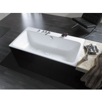 Kylpyamme Kaldewei Asymmetric Duo, upotettava, eri kokoja, valkoinen