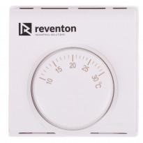 Huonetermostaatti Reventon HC lämpöpuhaltimille, manuaali, valkoinen