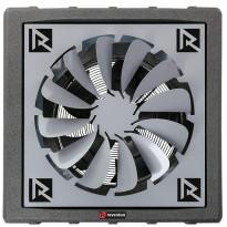 Lämpöpuhallin Reventon HC70-3S, 60.6kW, musta + levityssäle 360