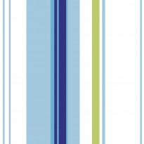 Tapetti Kompismultistripe 11-10768 0,53x10,05m, non-woven, sininen/vihreä