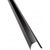 Päätyräystäspelti Kerabit, 2,0m, RR33 musta