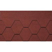 Kattolaatta Kerabit K+, punainen, 3m²/pkt