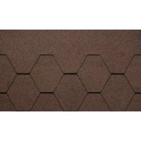 Kattolaatta Kerabit K+, ruskea, 3m²/pkt