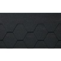 Kattohuopa Kerabit K+, musta 3 m²/pkt