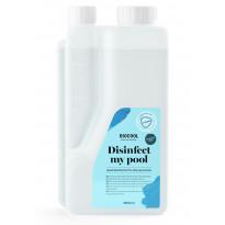 Veden puhdistusaine Kirami Biocool Disinfect my pool, 1 litra
