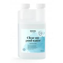 Veden hiutaloittamisaine Kirami Biocool Clear my pool water, 500 ml