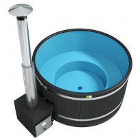 Kylpytynnyri Comfort Cozy L Cube EP musta, sininen 6-8 hlöä 2300l