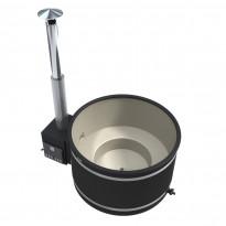 Kylpytynnyri Comfort Cozy M Macu PL, 4-6hlöä, 1450l, valkoinen/harmaa, Tammiston mallipoisto