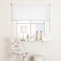 Rullaverho Kirsch Fanny, 120x165cm, valoa suodattava, valkoinen