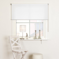 Rullaverho Kirsch Fanny, 140x165cm, valoa suodattava, valkoinen