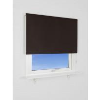 Rullaverho Kirsch, 180x165cm, pimentävä, ruskea