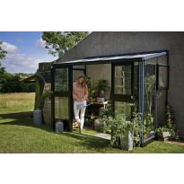 Kasvihuone Veranda 4,4m², turvalaseilla