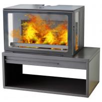 Valurautatakka Plamen Eco Minimal 50, 8kw, 153 kg