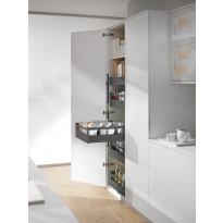Sisälaatikko Ideal Keittiöt hidasteilla, korkea, eri kokoja, harmaa