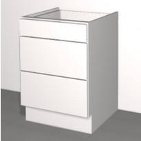 Laatikoston runko Ideal Keittiöt, 500x710x568 mm, + 3 laatikkoa