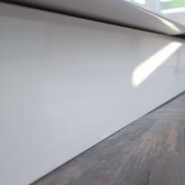 Sokkeli Ideal Keittiöt 2500x150x13 mm vedenkestävä kiiltävä valkoinen