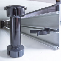 Säätösokkelijalka Ideal Keittiöt 98-120 mm 4kpl