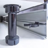 Säätösokkelijalka Ideal Keittiöt 146-167 mm 4kpl