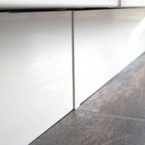 Sokkelin jatkopala Ideal Keittiöt 150 mm vedenkestävä matta valkoinen