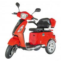 Senioriskootteri Kontio Silverfox 2.0 Premium Pack, 800W, punainen