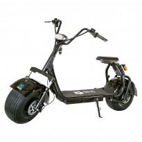 Sähköskootteri Kontio Kruiser 2.0 Premium Pack, 1000W, musta