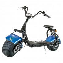 Sähköskootteri Kontio Kruiser 2.0 Premium Pack, 1000W, sininen