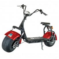 Sähköskootteri Kontio Kruiser 2.0 Premium Pack, 1000W, punainen