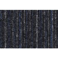Tekstiililaatta Condor Solid 578, 5x500x500mm, raidallinen siniharmaa