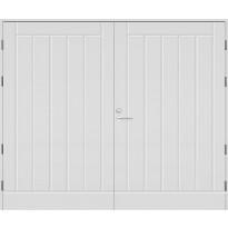 Autotallin ovi Kaskipuu UO1AO, 25x21, karmi 130mm, valkoinen