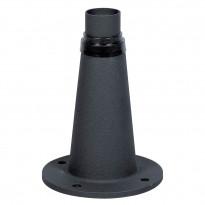 Pikkupylväs 574-750 Junior, musta, korkeus 245mm