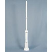 Valaisinpylväs 575-250 Hercules, valkoinen, 2130mm