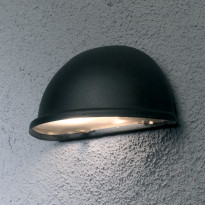 Seinävalaisin Konstsmide Torino 7325-750, 200x105x100mm alas, musta