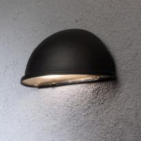 Seinävalaisin 7326-750 Torino, alasvalo, musta