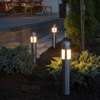 LED-puutarhavalosetti Konstsmide Amalfi 3-os. 7451-000, 3x0,6W
