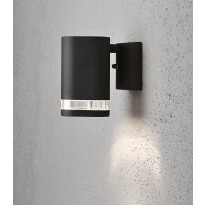 Seinävalaisin Konstsmide Modena 7511-750, alas, musta