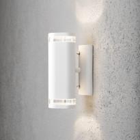 Seinävalaisin Konstsmide Modena 7512-250, ylös/alas, valkoinen