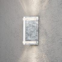 Seinävalaisin Modena 7518-320, 130x115x240mm, ylös/alas, sinkitty teräs