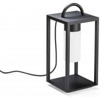LED-terassilyhty Konstsmide Bologna, 7530-750, 200x200x455mm, musta