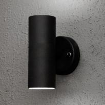 Seinävalaisin Konstsmide Modena 7571-750, 2xGU10, ylös/alas, musta