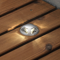 Terassivalaisinsarja 7659-000 LED-spotti 6kpl + muuntaja
