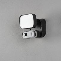 Seinävalaisin Konstsmide Smartlight 7867-750, musta, 10W, kamera, kaiutin, mikrofoni