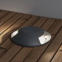 LED-maavalaisin Konstsmide 7879-370, Ø200mm, antrastiitti, LED, 10W