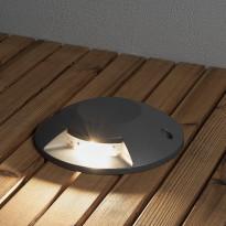 LED-maavalaisin Konstsmide 7880-370, Ø200mm, antrasiitti, LED, 5W
