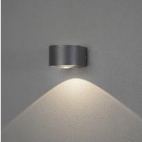 LED-seinävalaisin Konstsmide Gela, 6W, antrasiitti