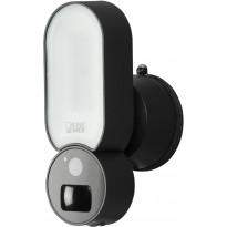 LED-tunnistinvalaisin Konstsmide Smartlight, kameralla, musta