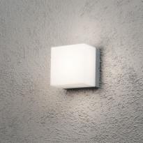 Seinävalaisin 7926-312 Sanremo, 140x140x110mm, GX53 alumiini/opaalilasi