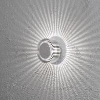 LED-seinävalaisin Konstsmide Monza 7932-310, Ø150x105mm, alumiini